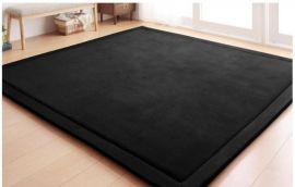 Carpet Bennett 190X190cm-black