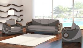 Sofa set 3+1+1 Kaja-grey