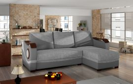 Corner sofa bed Perica-grey