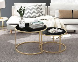 Coffee Table Aaron-black