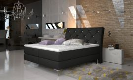 Boxspring bed Karleen -black-160x200cm