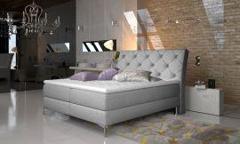 Boxspring bed Karleen -light grey-160x200cm