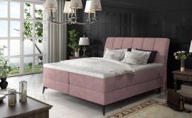 Boxspring bed Audelia -pink-160x200cm