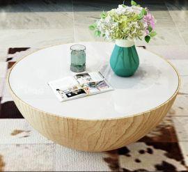 Round Coffee Table Alarico-wood