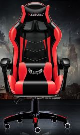 Computer chair Alaric-black-red