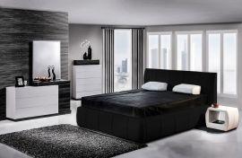Alicante Lux Säng 160x200 svart