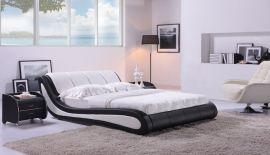 Säng Almonte Lux 160-180 svartvitt