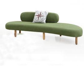 Antoinette Corner Sofa-green