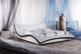Säng Antarctic Lux 160-180 Svart-Vit
