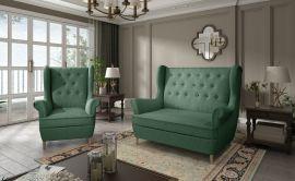 Sofa set Philomena 2+1-green