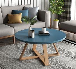 Round Coffee Table Arturo-blue