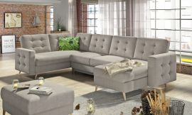Corner sofa bed Enrique-beige