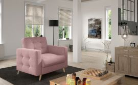 Armchair Rainey-light pink