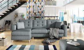 Corner sofa bed Dimitri-grey