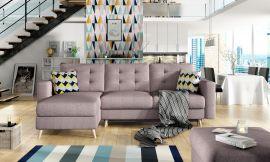 Corner sofa bed Dimitri-pink