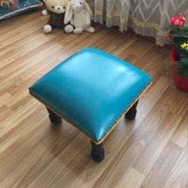 Pouf Ashten-blue