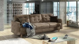 Sofa bed Coretta-light brown