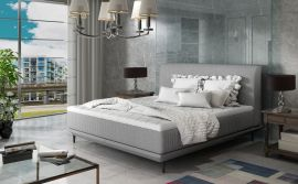 Bed Argento light grey-160x200cm