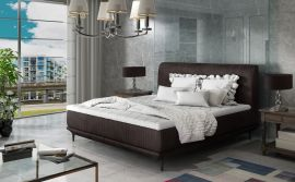 Bed Argento dark brown-160x200cm