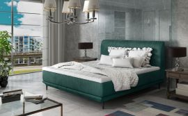 Bed Argento green-160x200cm