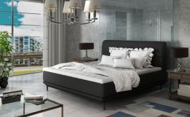Bed Argento black-160x200cm