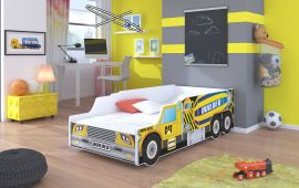 Children bed Buildercar-140x70cm
