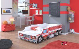 Children bed Firetruck-140x70cm