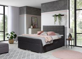 Boxspring bed Irina -grey-160x200cm