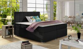 Boxspring bed Irina -black-160x200cm