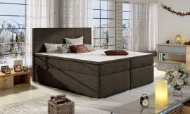 Boxspring bed Nordland 160-180-160x200cm-brown