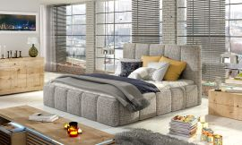 Bed Ares light brown-160x200cm