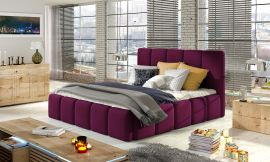 Bed Ares purple-160x200cm