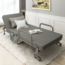 Foldable Bed Beldon-grey