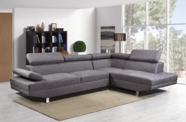 Bella Corner Sofa-dark-grey