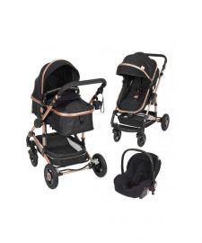 Barnvagn 3-in-1 + babyskydd ElmaPram Montano
