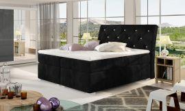 Boxspring bed Harriet -black-160x200cm