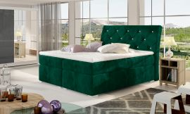 Boxspring bed Harriet -green-160x200cm