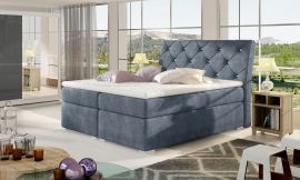 Boxspring bed Harriet -blue-160x200cm
