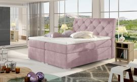 Boxspring bed Harriet -light pink-160x200cm