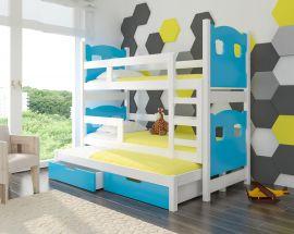 Children bed Gaston-blue