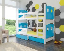 Children bed Esmerelda-blue