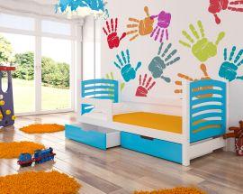 Children bed Graciella 180x75-blue