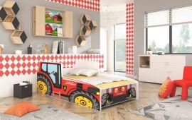 Barnsäng Tractor Röd