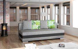 Sofa bed Gisela-black-grey