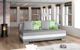 Sofa bed Gisela-white-grey