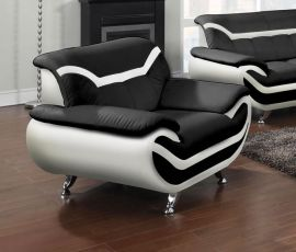Armchair Calgary-black-white