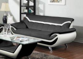 3-seater Sofa Calgary -black-white
