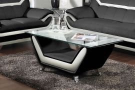 Coffee table Calgary-black-white