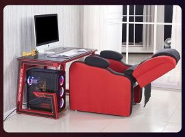 Gamingstol & Gamingbord Set Clive
