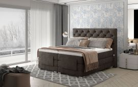 Adjustable Bed Set Astrid 160-180-160x200cm-light brown